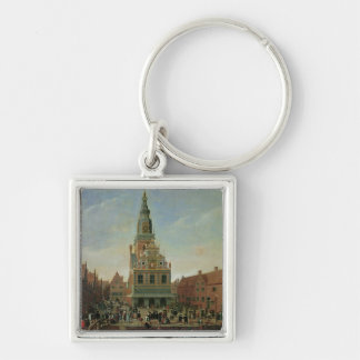 View of the Weighhouse and the Cheese Market Key Ring