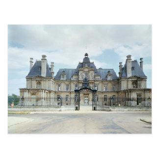 View of the West facade of Chateau de Maisons Postcard