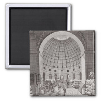View of the Wheat Market and the Cupola Square Magnet