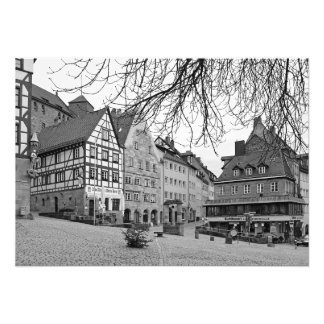 View of Tirgatnerplatz in Nuremberg Photo Print