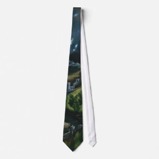 View of Toledo, El Greco Tie