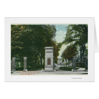 View of Union College Memorial Gate Card