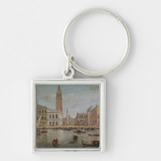 View of Venice, 1719 Key Chain