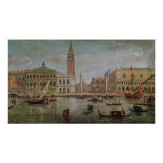 View of Venice, 1719 Poster
