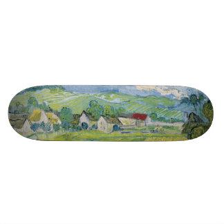 View of Vessenots Near Auvers by Vincent Van Gogh 21.6 Cm Skateboard Deck