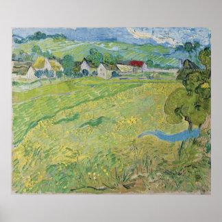 View of Vessenots Near Auvers by Vincent Van Gogh Poster