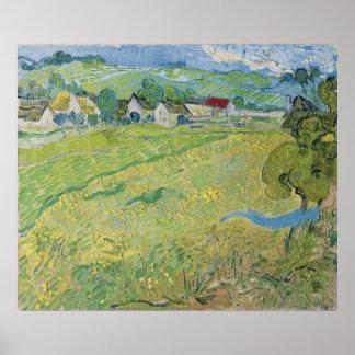View of Vessenots Near Auvers by Vincent Van Gogh Print