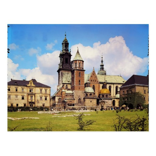 View of Wawel Cathedral Postcard