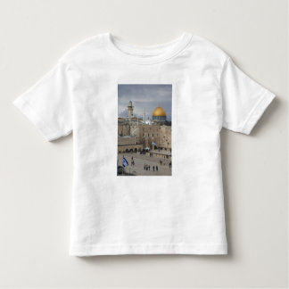 View of Western Wall Plaza, late afternoon Toddler T-Shirt