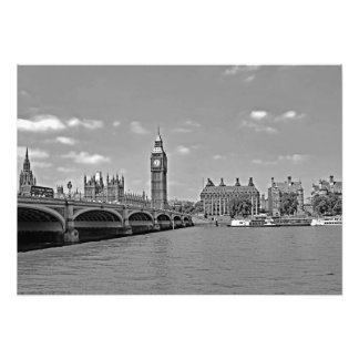 View of Westminster bridge Photo Print