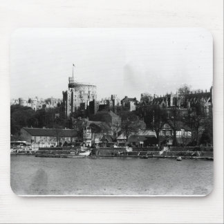 View of Windsor Castle, across the River Thames Mouse Pad