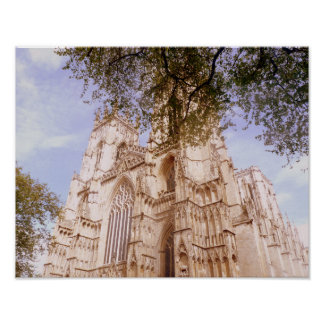 View Of York Minster Poster