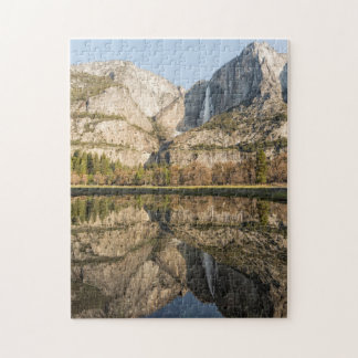 View of Yosemite Falls from Cook's Meadow Jigsaw Puzzle