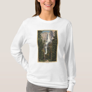 View of Yosemite Falls & Valley T-Shirt
