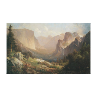 View of Yosemite Valley Gallery Wrap Canvas