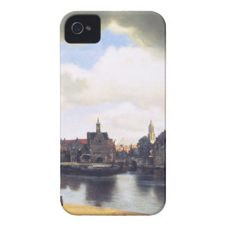 View on Delft by Johannes Vermeer iPhone 4 Case
