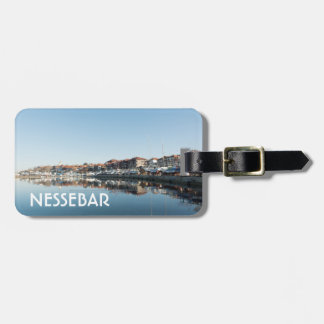 View on famous Bulgarian town Nessebar Luggage Tag