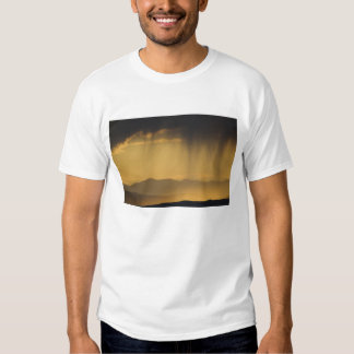 View onto successive hills along the Top of T Shirt