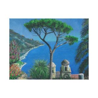 View over Capo D' Orso Sardinia Canvas Print