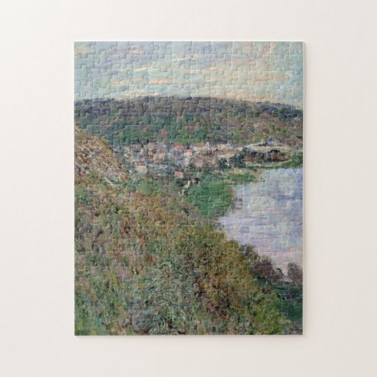 View over Vetheuil Monet Fine Art Jigsaw Puzzle