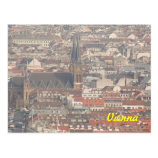 view over Vienna, 16th district, ottakring Postcard