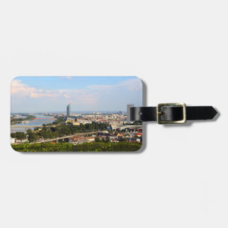 View Over Vienna Luggage Tag