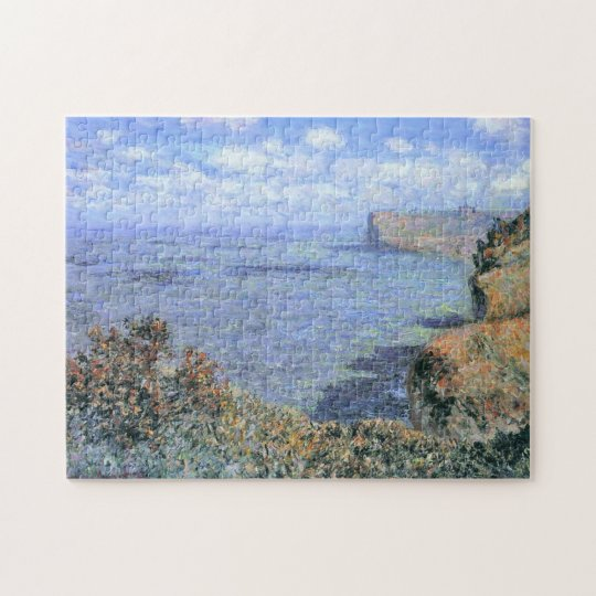 View Taken from Grainval Monet Fine Art Jigsaw Puzzle