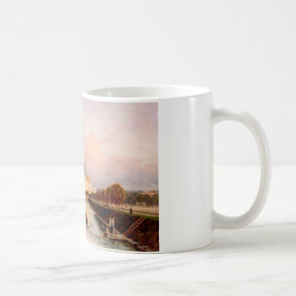 View to Michael's Castle in Petersburg from Lebiaz Basic White Mug