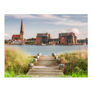 View to Rostock Postcard
