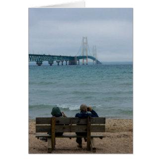Viewing Mackinac Bridge Card