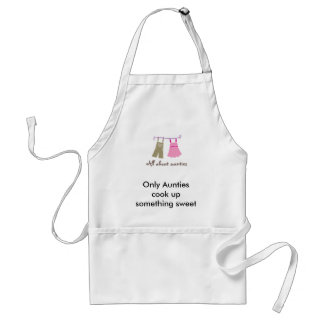 viewlogo.aspx, Only Aunties cook up something s... Standard Apron