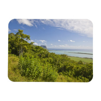 Viewpoint near Grand Riviere Noire, South Rectangular Photo Magnet