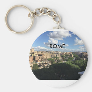 VIEWS FROM ROME BASIC ROUND BUTTON KEY RING