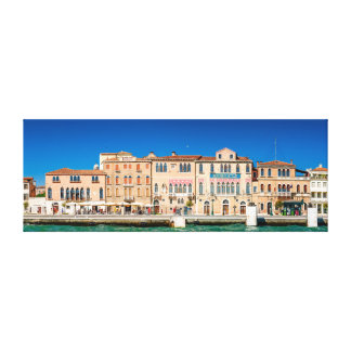 Views from Venice. Italy. Canvas Print