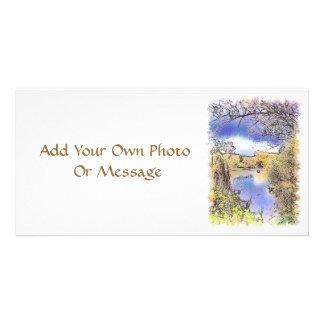VIEWS OF ENGLAND PHOTO CARD