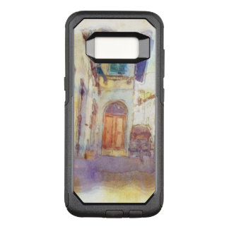 Views of Florence made in artistic watercolor OtterBox Commuter Samsung Galaxy S8 Case