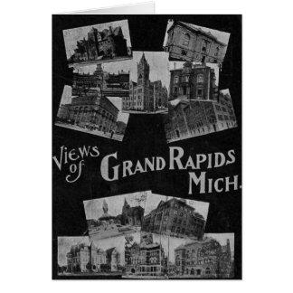 Views of Grand Rapids Michigan Vintage Card