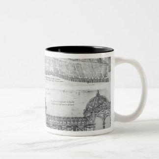 Views of Montargis, from 'Les Plus Belles Batiment Mugs
