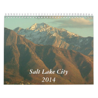 Views of Salt Lake City - 2014 Wall Calendars