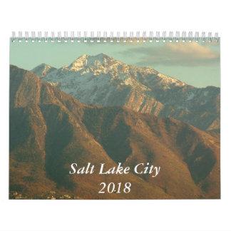 Views of Salt Lake City - 2018 Calendar