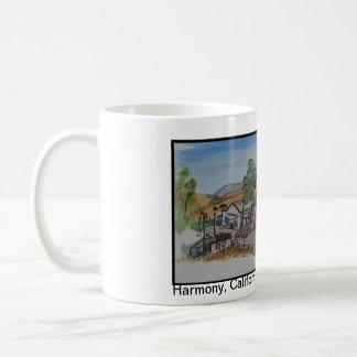Views of San Luis Obispo, Harmony California Coffee Mug