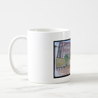 Views Of San Luis Obispo, Sunset Drive-In Coffee Mug