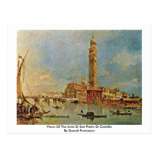 Views Of The Isola Di San Pietro Di Castello Postcard