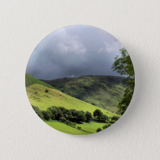 VIEWS OF WALES 6 CM ROUND BADGE