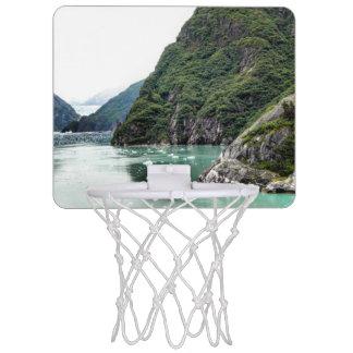 Views Through a Fjord Basketball Hoop