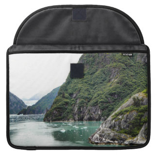Views Through a Fjord Macbook Sleeve