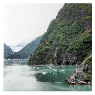 Views Through a Fjord Photo Tile