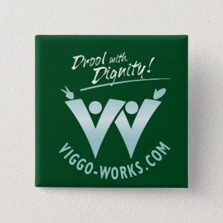 Viggo-Works Waving Fans Logo 15 Cm Square Badge