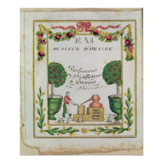 Vignette of 'Eau de Fleur d'Orange' Poster