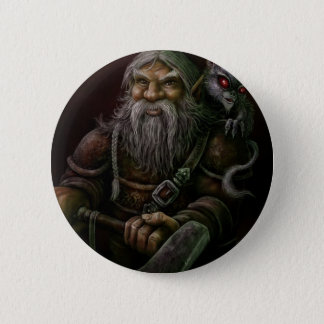 Viking 6 Cm Round Badge